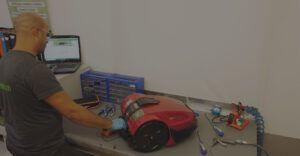 assistenza tecnica robot da giardino