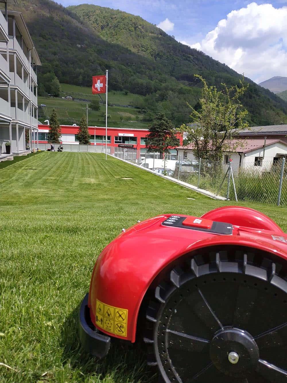 la clinica del robot Ticino